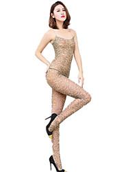 cheap -Women's Suits Nightwear - Leopard Print, Leopard