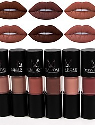 Lip Gloss Lipstick Wet Matte Mineral Liquid Waterproof Cosmetic Beauty Care Makeup for Face