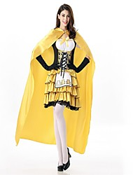 cheap -Princess Cinderella Fairytale Cosplay Costume Masquerade Female Christmas Halloween Carnival Oktoberfest Festival / Holiday Halloween