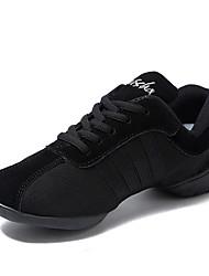 economico -Da uomo Sneakers da danza moderna Di corda Mezzepunte Quotidiano Tacco su misura Nero Personalizzabile