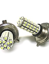 cheap -2PCS H4 1210 68SMD LED Light White
