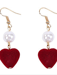 cheap -Women's Hoop Earrings Fashion Personalized Imitation Pearl Alloy Jewelry For Wedding Office & Career