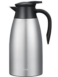 abordables -Intérieur Articles pour boire, 2000 Métallique Acier Inoxydable Eau Pot d'eau et bouilloire