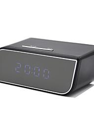 VD02 720P Wifi Pinhole Hidden Alarm Clock Security Surveillance Camera