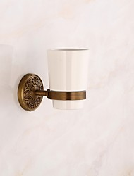 cheap -Toothbrush Holder High Quality Archaistic Brass 1 pc - Hotel bath Wall Mounted