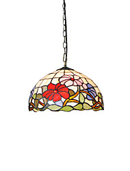 cheap -Diameter 30cm Tiffany Pendant Lights Glass Lamp Shade Living Room Bedroom Dining Room light Fixture