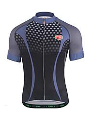 cheap -Cycling Jersey Men's Short Sleeves Bike Sweatshirt Jersey Top Bike Wear Breathability Spot Running/Jogging Mountain Cycling Recreational