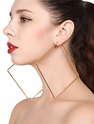 Women's Drop Earrings Hoop Earrings Sexy Oversized Alloy Geometric Jewelry For Party Street