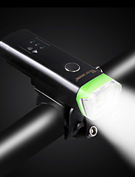 Bike Lights Lighting Front Bike Light Safety Lights LED LED Cycling Portable Professional Adjustable Quick Release Lithium Battery 350