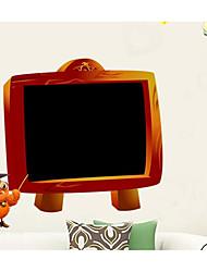 abordables -etiqueta de la pared de pizarra 42 * 58 cm para el propósito de la pintura de la habitación de los niños