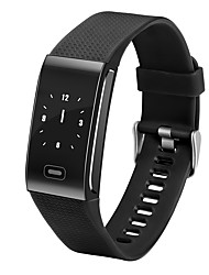 Smart Bracelet iOS Android IP67 Pedometers Exercise Record Heart Rate Monitor Touch Screen Alarm Clock Information Sleep Tracker Find My
