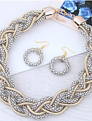 cheap -Women's Fashion Party Alloy Necklace Earrings