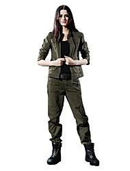 Per donna Giubbino anti-vento Indossabile Pantaloni per Escursionismo Campeggio S M L XL