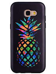 economico -Custodia Per Samsung Galaxy A5(2017) A3(2017) Fantasia/disegno Custodia posteriore Frutta Morbido Silicone per A3 (2017) A5 (2017) A7