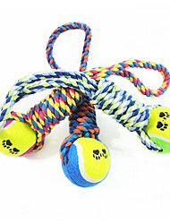 cheap -Dog Dog Toy Pet Toys Chew Toy Tennis Ball Cotton For Pets