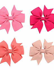 Handmade Baby Ribbons Bow Hairpin Hair Accessories Children Headdress Wholesale Color Mixed Hair 20pcs