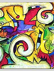 economico -Dipinta a mano Astratto Astratto Realismo Pastorale 14pcs Tela Hang-Dipinto ad olio For Decorazioni per la casa