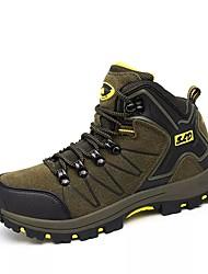 Недорогие -Для мужчин обувь Осень Удобная обувь Для пешеходного туризма для Повседневные Серый Зеленый