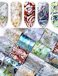 preiswerte -16 Nagel-Kunst-Aufkleber Make-up kosmetische Nagelkunst Design