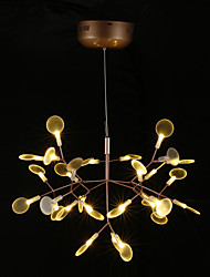 cheap -Chandelier ,  Modern/Contemporary Rustic/Lodge Vintage Country Brass Feature for LED MetalLiving Room Bedroom Dining Room Study