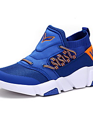 cheap -Boys' Shoes Tulle Fall Winter Comfort Sneakers Lace-up For Casual Outdoor Blue Green Black