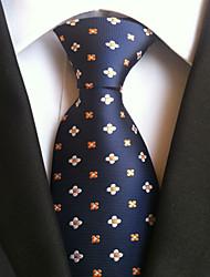 cheap -Men's Work Basic Necktie - Dots