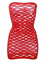 abordables -Sexy Ultra Sexy Nuisette & Culottes Vêtement de nuit Femme Couleur Pleine