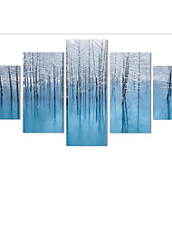 LED Canvas Art Stylish,One-piece Suit Canvas Vertical Panoramic Print Wall Decor For Home Decoration