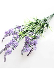 cheap -2 Branch Polyester Lavender Tabletop Flower Artificial Flowers