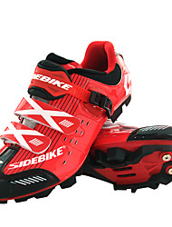cheap -SIDEBIKE Mountain Bike Shoes Bike Cycling Shoes Adults' Cushioning Mountain Bike Outdoor Breathable Mesh PU Cycling / Bike