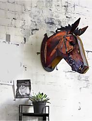 economico -Decorazione della parete di legno Antico Astratto Decorazioni da parete, Legno Wall Art di 1