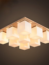 Japan and Korea Style Korean Flush Mount For Indoors Bedroom Indoor 220V 110VV Bulb Not Included