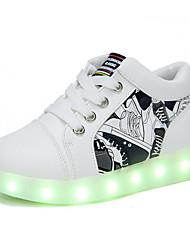 Jungen Schuhe PU Herbst Winter Komfort Sneakers Für Normal Weiß Rot