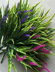 cheap -45cm 2 Pcs Home Decoration Artificial Green Plants Grass
