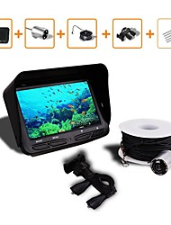 cheap -Underwater Fishing Camera DVR Video 6 LED Night Vision Fish Finder 4.3 HD TFT LCD Monitor Screen Fishing Finder