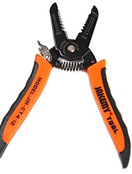 cheap -Wire Stripper Clamp 7.0 inch Wire Cable Side Cutter Cutting Snips Flush Pliers Nipper Terminal Crimping Tool