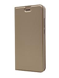 billige -Etui Til Huawei P10 Kortholder Med stativ Fuldt etui Helfarve Hårdt PU Læder for P10