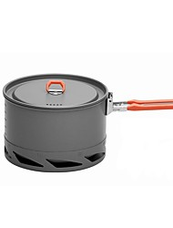Camping Pot Single Stainless Steel Hard Alumina for Picnic Camping & Hiking