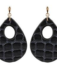preiswerte -Damen Tropfen-Ohrringe Kreolen Schmuck Modisch individualisiert Leder Kupfer Tropfen Schmuck Für Normal Festtage