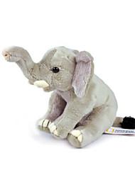 abordables -Animaux Eléphant Animaux en Peluche Artisanal réaliste Mignon Adorable Cadeau