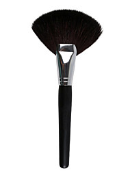 1pc  Fan Shape Blush Make Up Brushes Tool Face Powder Soft Foundation Blending Cosmetic Brusher