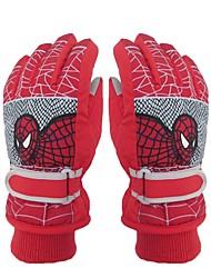 Ski Gloves Kid's Full-finger Gloves Keep Warm Protective Cloth Cotton Snow Sports Winter