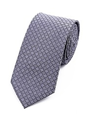 cheap -Men's Polyester Necktie - Jacquard