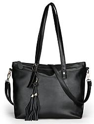 cheap -Women Bags PU Shoulder Bag Zipper for Shopping Formal All Seasons Blue Black Red