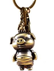 cheap -Key Chain Toys Novelty Pig Animal Zinc alloy Unisex Pieces
