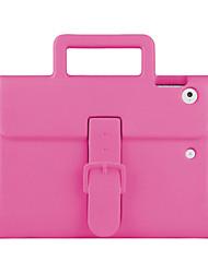 Недорогие -Кейс для Назначение Apple iPad (2017) Безопасно для детей Детский Безопасный случай Задняя крышка Сплошной цвет Твердый EVA для iPad
