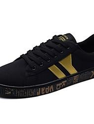 economico -Da uomo Scarpe PU (Poliuretano) Primavera Autunno Comoda Sneakers Per Casual Nero e Oro Bianco/nero White/Blue