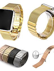economico -per orologi da mela serie 3 serie 2 serie 1 cinghia di ricambio cinturino in acciaio inossidabile lusso cinturino 38 42mm