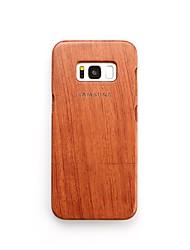 Custodia Per Samsung Galaxy S8 Plus S8 Resistente agli urti Custodia posteriore Frasi famose Resistente Legno per S8 Plus S8 S7 edge S7