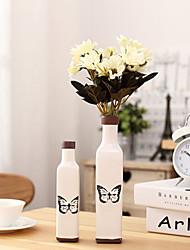 economico -stile giapponese europeo mediterraneo retrò vecchio ornamento vaso arredamento casa mini vaso in ceramica creativa